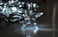 Vánoční řetěz Hvězdy nejen na ozdobení okna