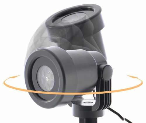 Variabilní možnost natočení projektorů dle potřeb