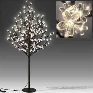 Dekorační svítící LED stromek 180cm