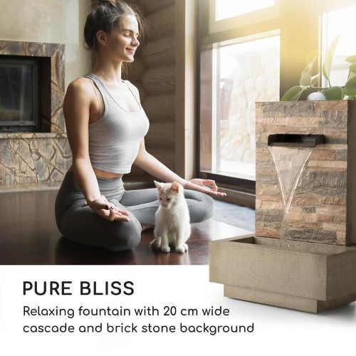 Interiérová fontána pro dokonalou domácí meditaci