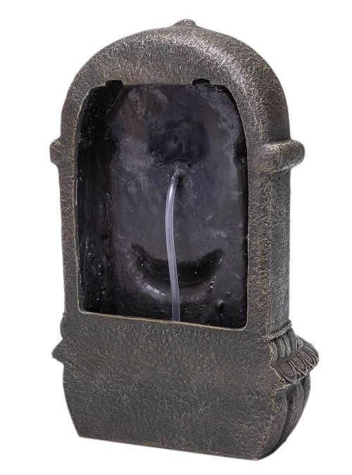 Kašna z umělého kamene pro zavěšení na zahradě