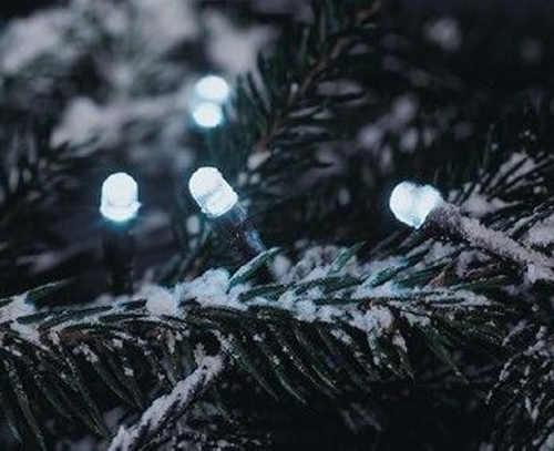 Vánoční světelný LED řetěz na zahradu