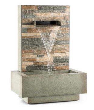 Watergate zahradní fontána s kaskádou do interiéru i exteriéru