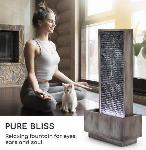 Domácí fontána relaxace pro oči uši i mysl