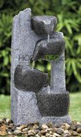Fontána z umělého kamene misky