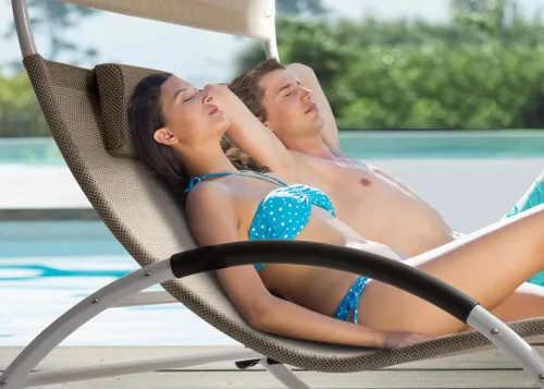 Dokonalá relaxace u bazénu