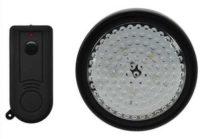 LED osvětlení zahradního přístřešku s dálkovým ovladačem