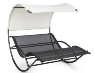 Moderní relaxační houpací lehátko Blumfeldt The Big Easy