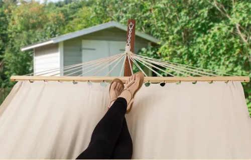 Relaxační houpací síť na zahradu