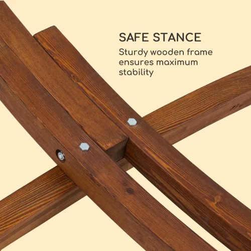 Stabilní konstrukce z modřínového dřeva