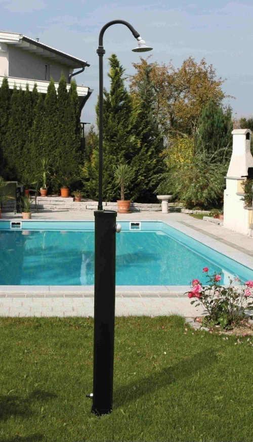 Menší solární sprcha k venkovnímu bazénu Speedshower Eco