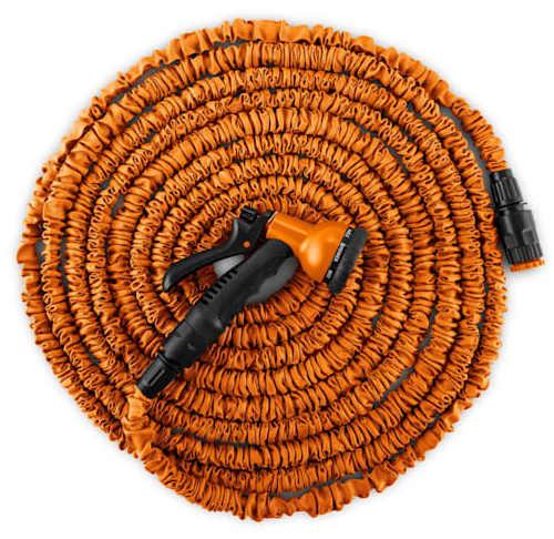 Oranžová zahradní smršťovací hadice 15 metrů