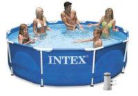 Kruhový bazén INTEX Metal Frame 3,05 x 0,76m s kartušovou filtrací