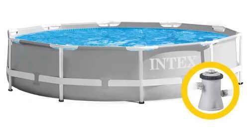 Levný bazén na zahradu včetně kartušové filtrace