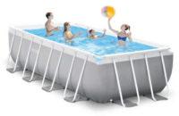 Obdélníkový nadzemní bazén na zahradu 4,88 x 2,44 x 1,07 m