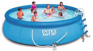 Samonosný zahradní bazén Intex Easy Set 4,57 x 1,07 m