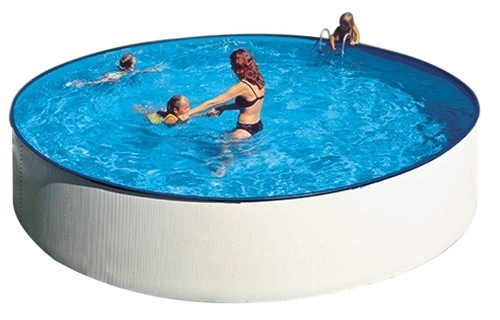Plechový nadzemní bazén s rychlou a snadnou montáží GRE Splash 3,5 x 0,9m