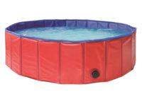 Skládací zahradní bazén pro psy průměr 100 cm