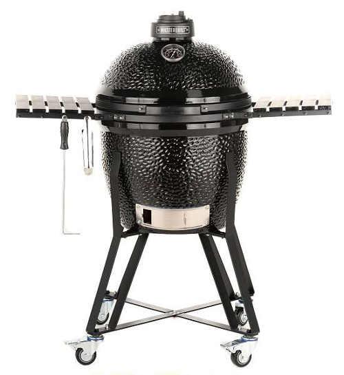 Černý keramický venkovní gril Masterbuilt