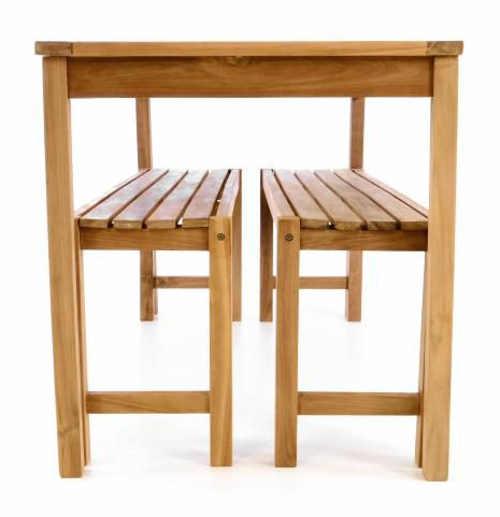 Zahradní nábytkový set z týkového dřeva