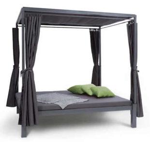 Zahradní postel se stříškou Blumfeldt Senator Lounge