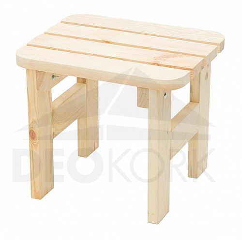 Zahradní stolička z borovicového dřeva