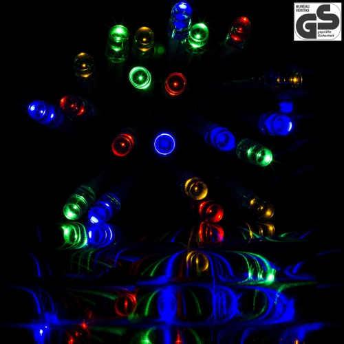 Světelný řetěz z barevných led diod