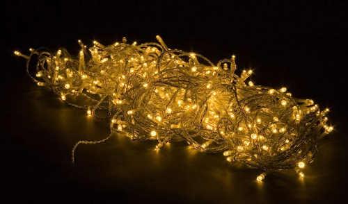 Svítící řetěz na vánoční stromeček délka 20 metrů
