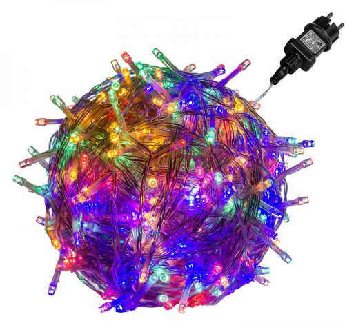 Venkovní vánoční barevný LED osvětlení 5 m