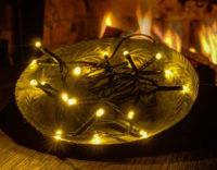 DecoLED Vánoční venkovní světelný řetěz na baterie s dlouhou výdrží