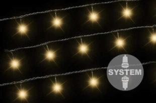 DiLED vánoční světelný řetěz - 100 LED