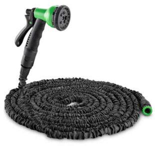 Dlouhá černá 30 m zahradní smršťovací flexi hadice