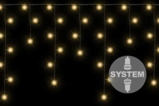 Vánoční LED světelný řetěz padající déšť napojovací