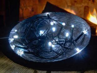 Vánoční osvětlení na truhlíky - na baterie s dlouhou výdrží