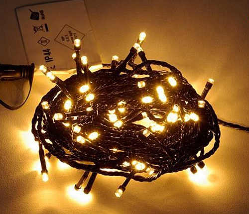 Vánoční světelný řetěz výprodej