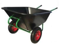 Velké dvoukolé zahradní kolečko 210 litrů