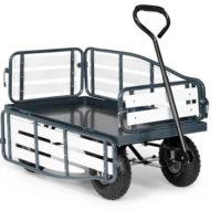 Velký ruční zahradní vozík Waldbeck Ventura