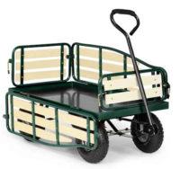Všestranný ruční vozík na přepravu nákladů v zahradě