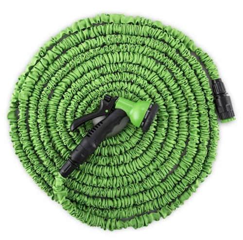 Zelená smršťovací zahradní hadice