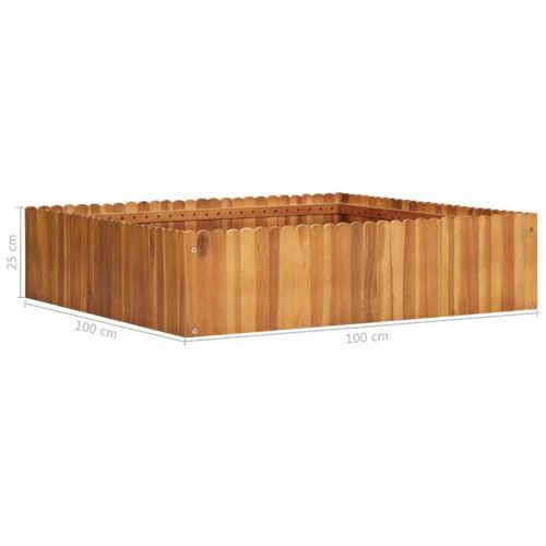 dřevěný truhlík v zajímavém provedení