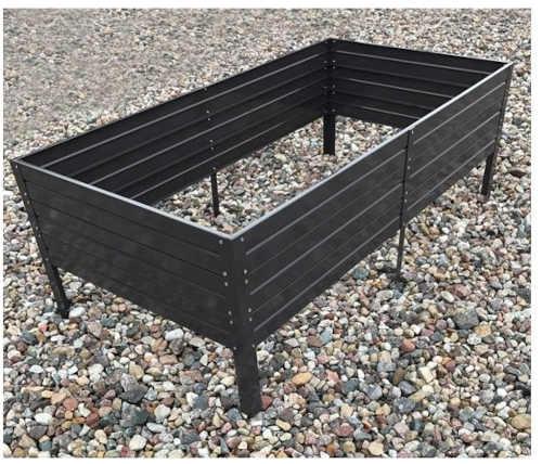 funkční vyvýšený záhon z kvalitního plechu