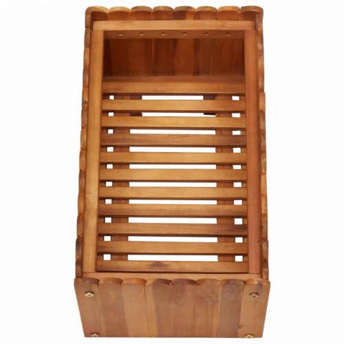 truhlík z akáciového dřeva