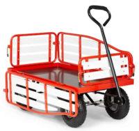 Ruční vozík Waldbeck Ventura na přepravu těžkých nákladů v zahradě