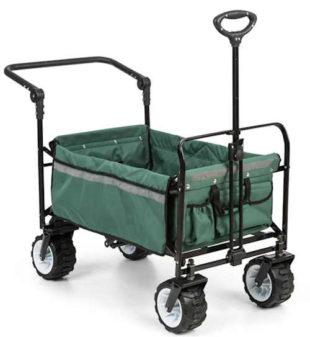 Tahací transportní vozík který zvládne i složitější terén
