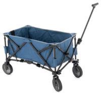 Transportní skládací stabilní vozík na vycházky do přírody