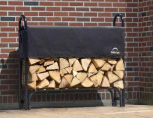 Kovový dřevník LanitPlast stojan na dřevo SHELTERLOGIC 1,2 m