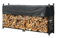 Stojan na dřevo Shelterlogic 238x36x120 cm