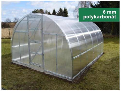 Obloukový zahradní skleník