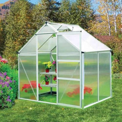 Polykarbonátový skleník 193x185 cm