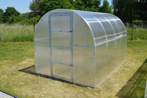Zahradní obloukový ocelový skleník